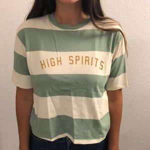 Graphic tee - High spirits